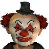 зло клоуна Стоковые Фото