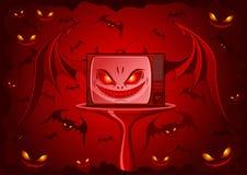 зло tv Стоковое фото RF