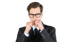 злющее бой бизнесмена, рыночная конкуренция Стоковая Фотография RF