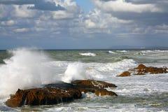 злющие волны Стоковое Фото