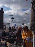 Змеи фестиваля стоковое фото rf
