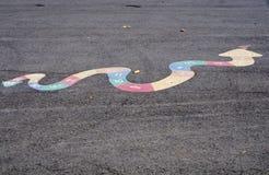 Змейка игры ребенка Стоковое Изображение