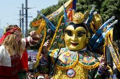 Змейка Новый Год Веллингтона китайская Стоковые Фото