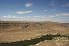 змейка реки Айдахо каньона Стоковое фото RF