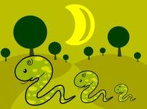 змейка семьи s 03 брат бесплатная иллюстрация