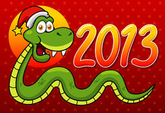 Змейка шаржа Стоковое фото RF