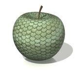змейка яблока иллюстрация вектора