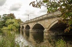 Змейчатый мост, Гайд-парк, Лондон стоковое изображение rf