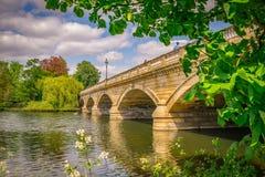 Змейчатый мост Стоковое Фото