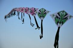 Змей летания на квадрате Chaotianmen в Чунцине Стоковые Изображения