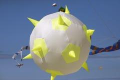 Змей шарика в воздухе Стоковое Изображение