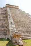 Змей El Castillo Стоковые Фото