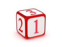 1 2 3 знака Стоковое Изображение