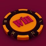 знаки внимания казино Стоковая Фотография RF