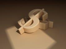знаки доллара Стоковые Изображения