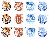 Знаки зодиака Стоковое фото RF