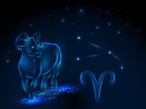 Знаки зодиака космофизики Стоковые Фотографии RF