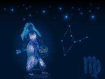 Знаки зодиака космофизики Стоковые Фото