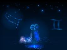 Знаки зодиака космофизики Стоковые Изображения RF