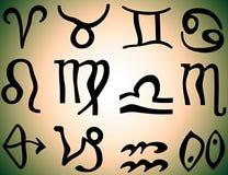 Знаки зодиака Стоковые Фото