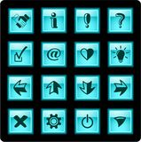 знаки икон Стоковое фото RF