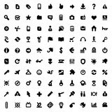 знаки икон Стоковая Фотография RF