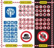 Знаки и значки Стоковая Фотография