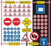 Знаки и значки Стоковое фото RF