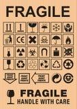 знаки картона Стоковая Фотография