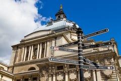 Знаки Лондона стоковые изображения