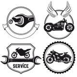 Знаки мотоцикла Стоковое фото RF