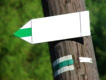 знаки направления Стоковое Фото