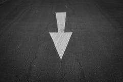 Знаки на дороге Стоковые Изображения RF