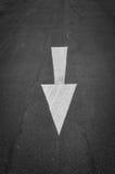 Знаки на дороге Стоковое Изображение RF