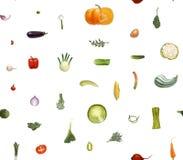 Знаки овощей малые Стоковая Фотография RF