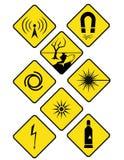 Знаки опасности Иллюстрация вектора
