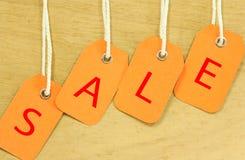 Знаки продажи Стоковая Фотография RF
