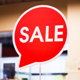 Знаки продажи Стоковые Изображения RF