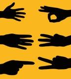 знаки руки Стоковая Фотография