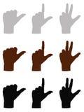 Знаки руки Стоковое Фото