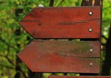 Знаки стрелки Стоковые Фотографии RF