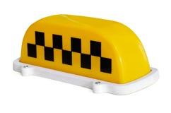 Знаки таксомотора стоковые изображения