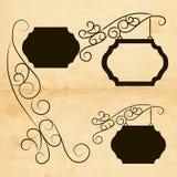 Знаки украшения Стоковые Фотографии RF