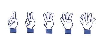 Знаки числа Стоковое фото RF