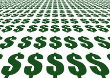 знаки доллара Стоковые Фото