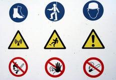 знаки Стоковые Изображения