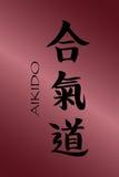 знаки aikido Стоковая Фотография