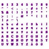 знаки 3d Стоковое фото RF