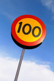 100 знаков Стоковые Фото