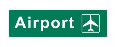 Знак авиапорта Стоковые Фотографии RF